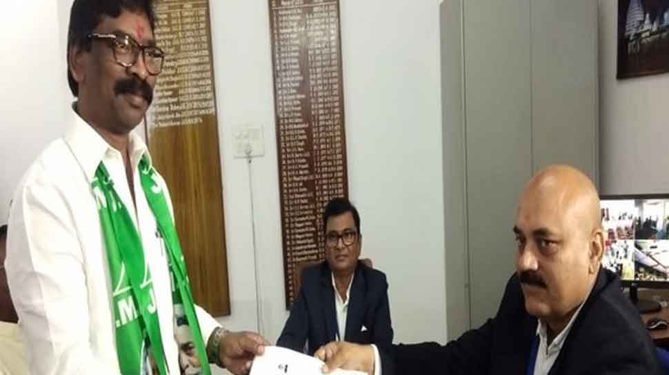 Former Jharkhand CM Hemant Soren files nomination from Dumka assembly seat
