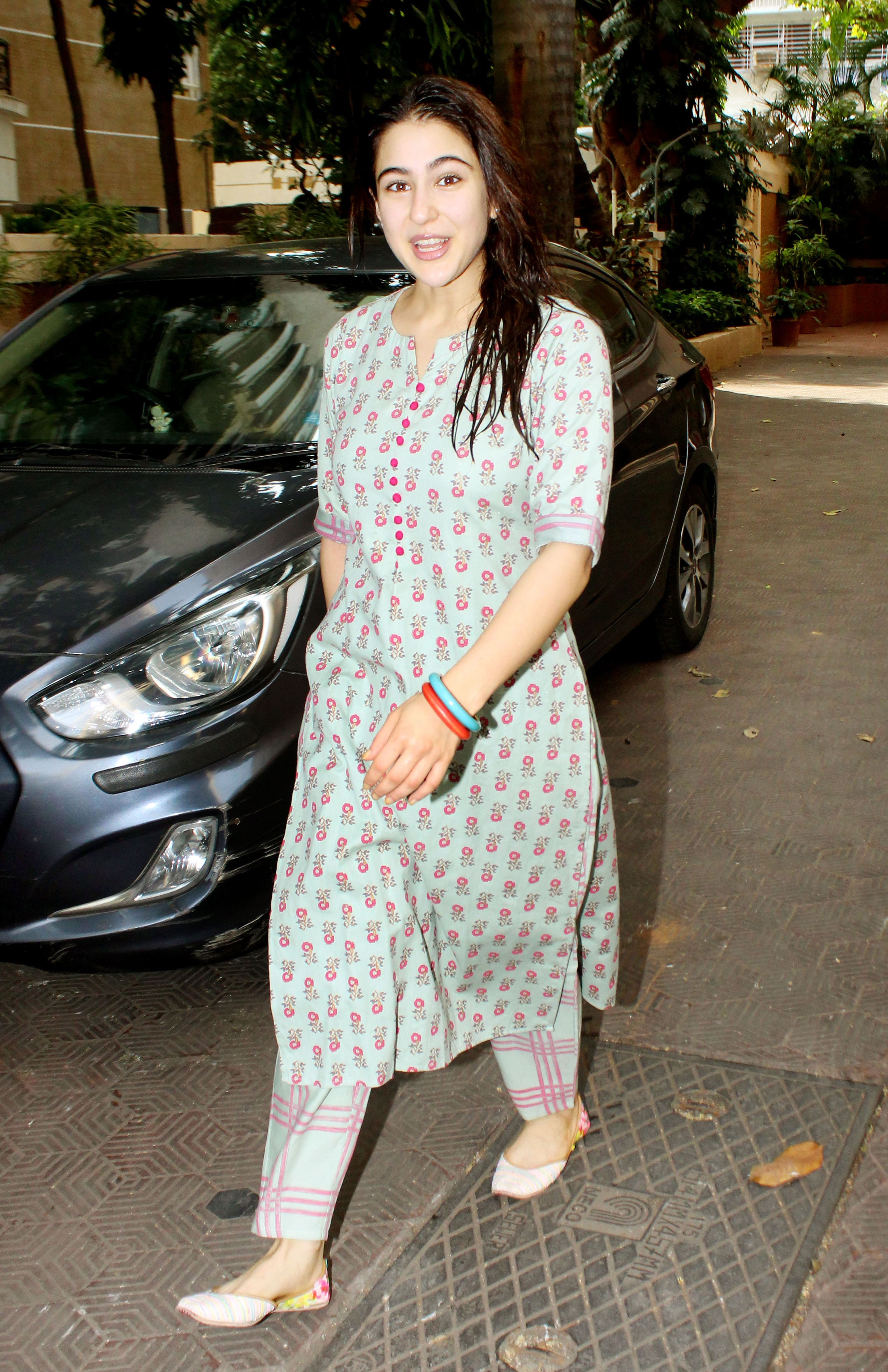 Sara Ali Khan spotted in the city
