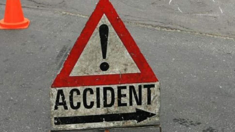 TDP leader sustains injuries in car accident in Visakhapatnam