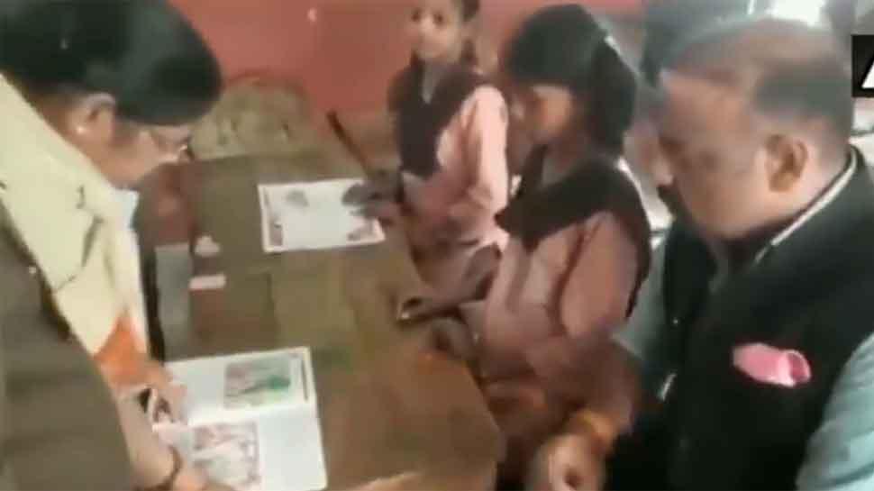 English teacher fails to read excerpts in Uttar Pradesh's Unnao govt school — Watch