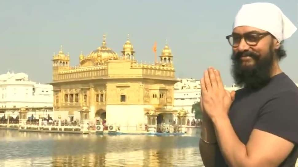 Aamir Khan takes time off from Laal Singh Chaddha shoot to visit Golden Temple