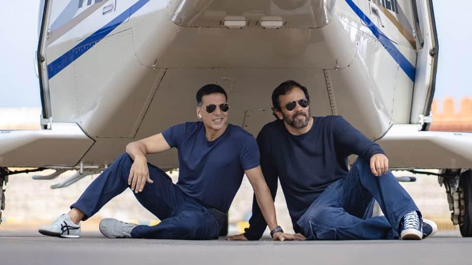 Akshay Kumar wraps up 'Sooryavanshi' shoot; shares pic from 'Last Shot, Last Stunt'