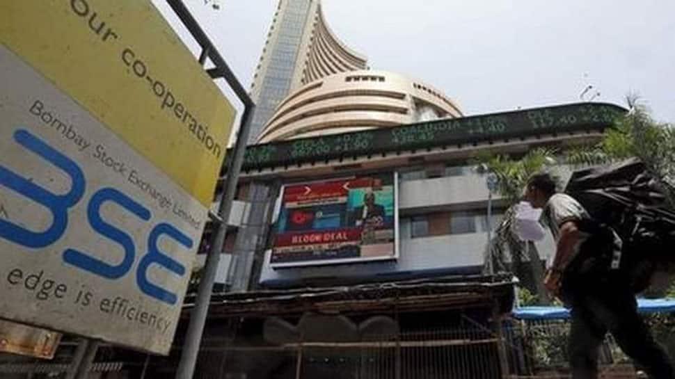 Sensex gains 100 points, Nifty near 12,100; auto, telecom stocks in focus