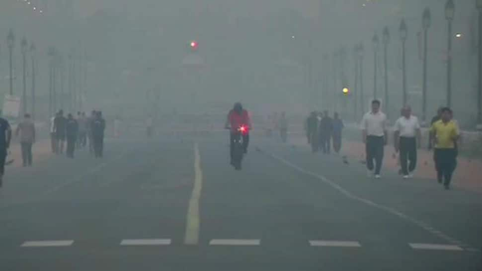 Delhi battles to breathe as air quality plunges to 'very poor' category
