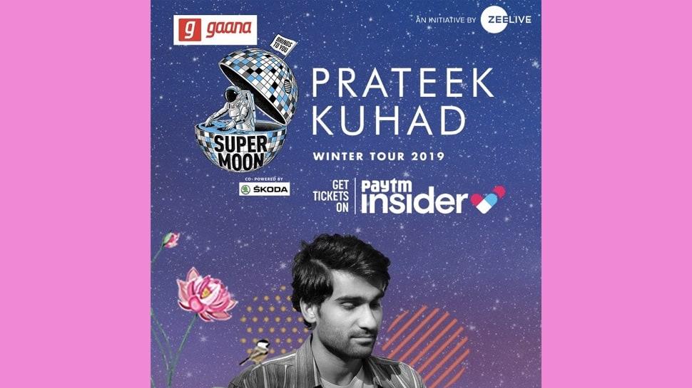 Prateek Kuhad to perform at Zee LIVE's Supermoon in Pune, Mumbai, Bangalore & Delhi