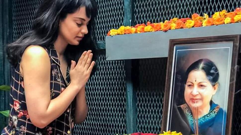 Kangana Ranaut pays tribute to 'Thalaivi' Jayalalithaa on death anniversary