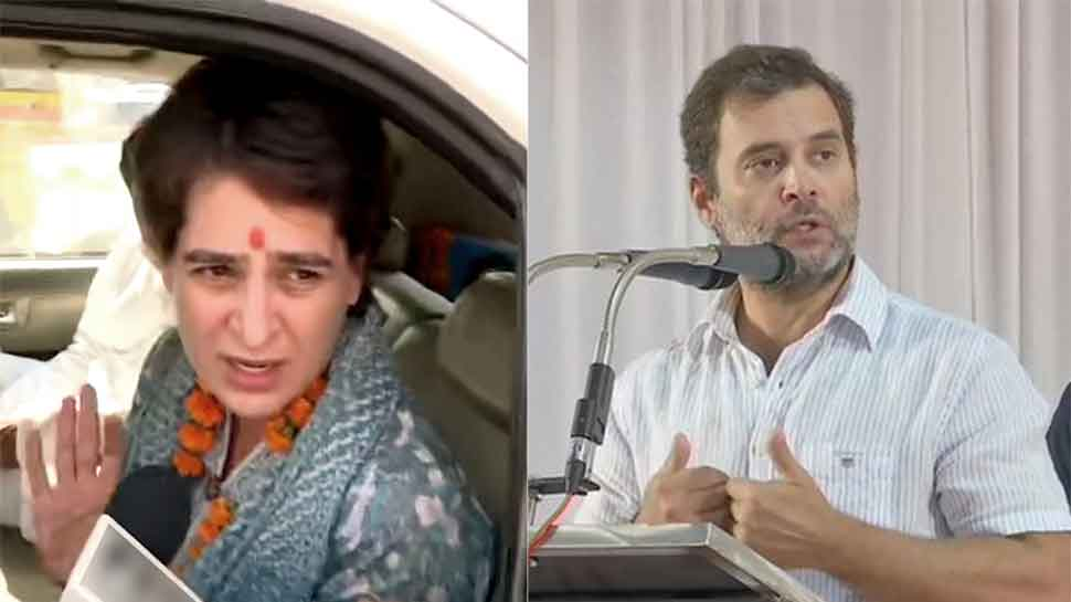 Lathicharge on Congress workers protesting against Unnao incident; Rahul Gandhi slams Modi govt