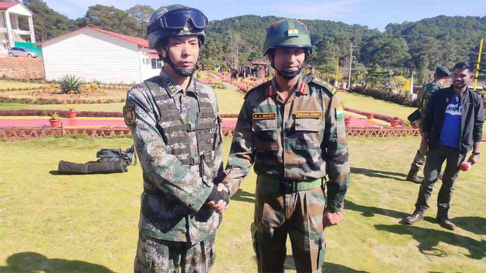 Indo-China joint military exercise 'Hand-in-Hand-2019' commences in Meghalaya