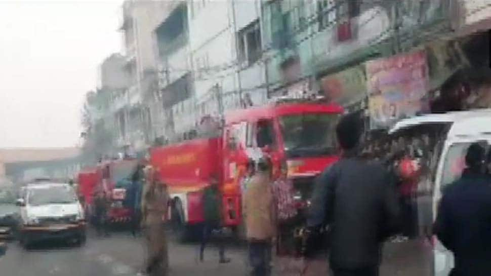 32 dead in massive fire at a house in Delhi, rescue operations continue