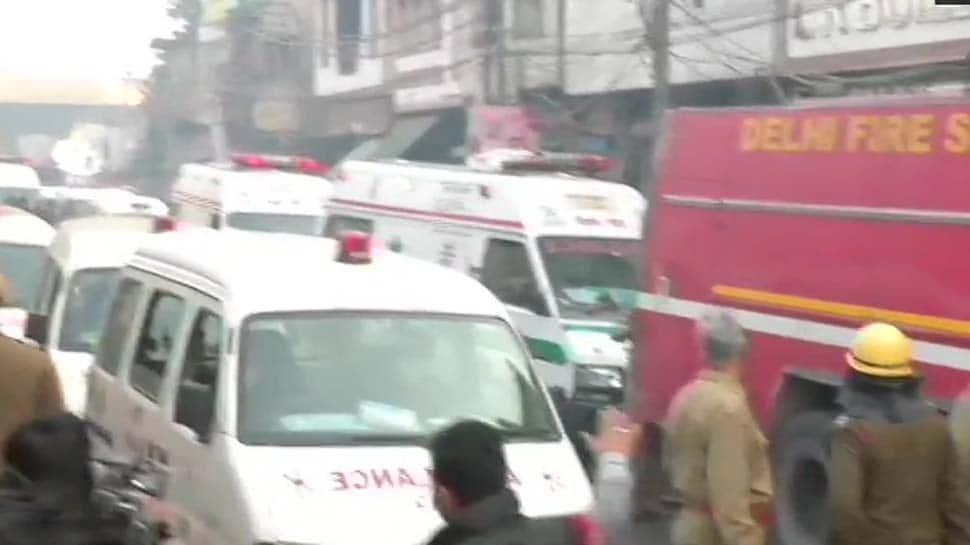 35 dead, over 50 rescued after massive fire in Delhi's Anaj Mandi