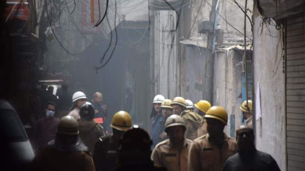 Delhi Anaj Mandi fire: Short circuit may have caused blaze that killed 43, factory owner absconding; says police