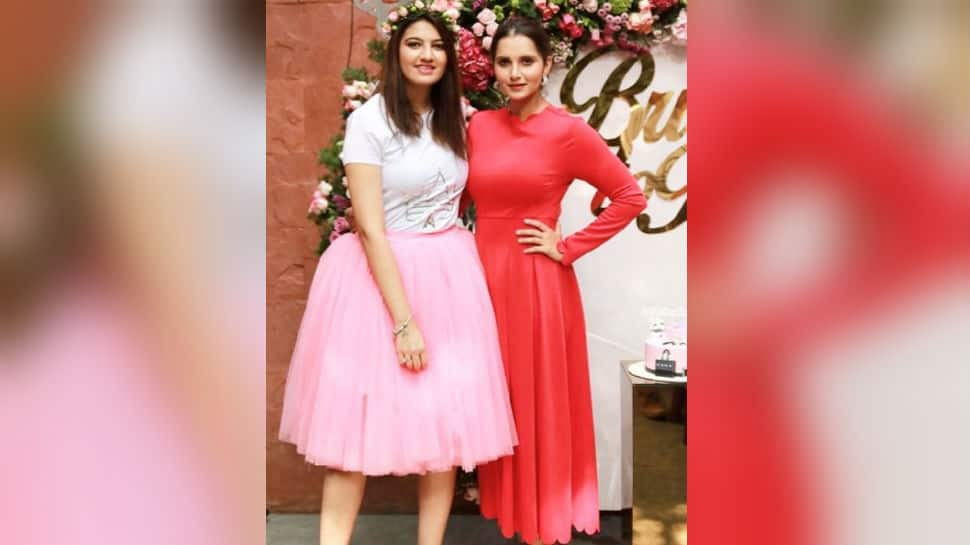 Inside Sania Mirza's sister Anam's bridal shower - See pics