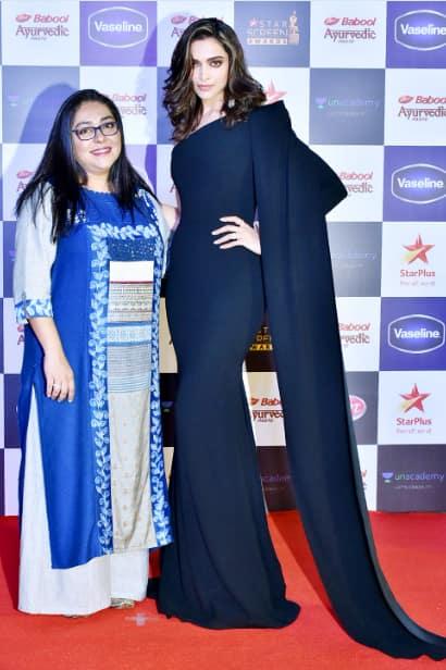 Deepika with Meghna Gulzar