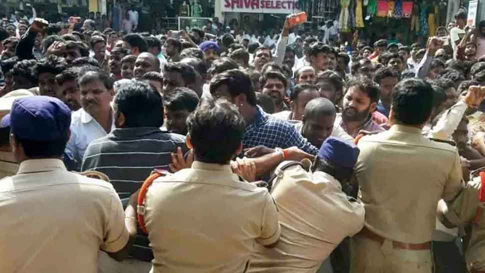 Hyderabad: Bodies of accused in vet's rape-murder case shifted to Gandhi Hospital