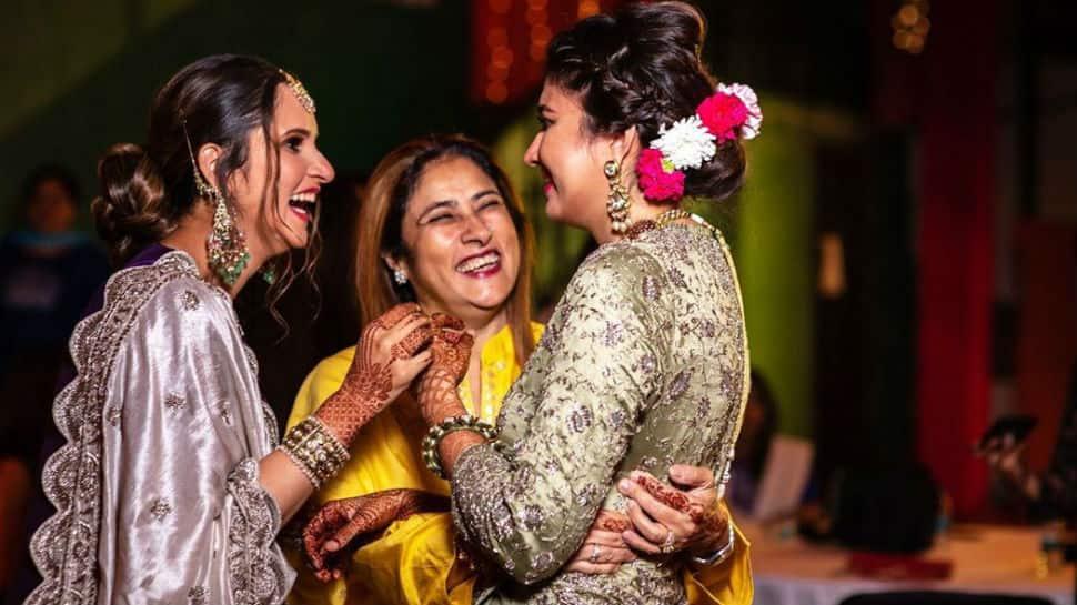 In pics: Sania Mirza's sister Anam marries Azharuddin's son Asad in Hyderabad