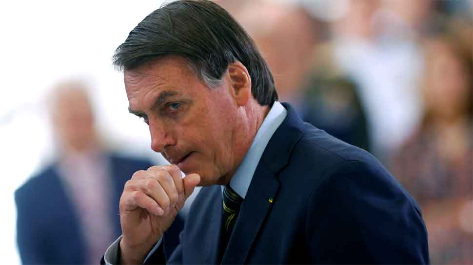 Brazil president Bolsonaro says he has a possible skin cancer