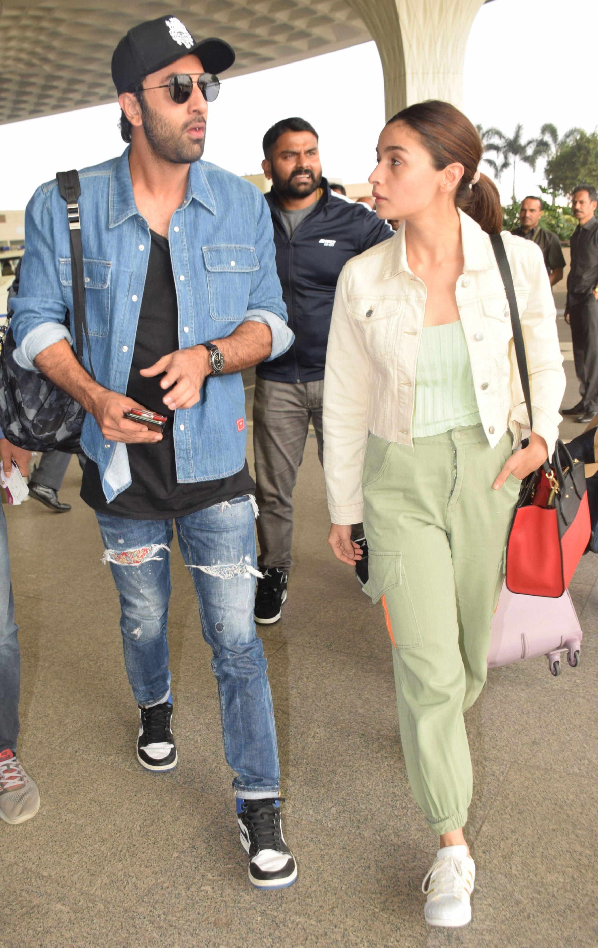 Ranbir and Alia look cool together