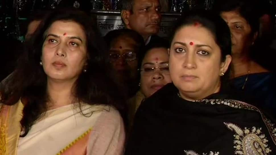 Smriti Irani complains to EC against Congress leader Rahul Gandhi's 'Rape in India' remark