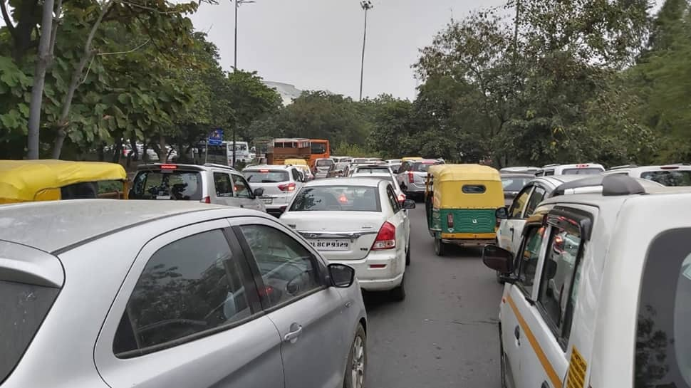 Anti-Citizenship Amendment Act protests: Traffic restrictions in Delhi cause five-km-long jam