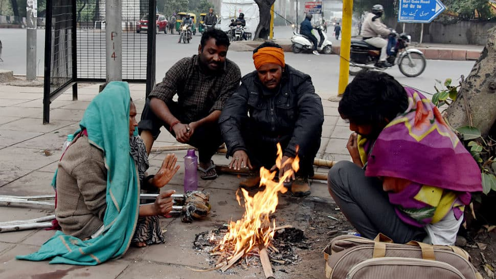 Delhi records coldest day of season at 7.2 degrees