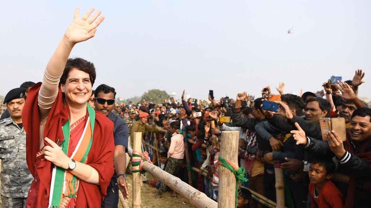 BJP helping the rich get richer: Priyanka Gandhi in Pakur rally in Jharkhand