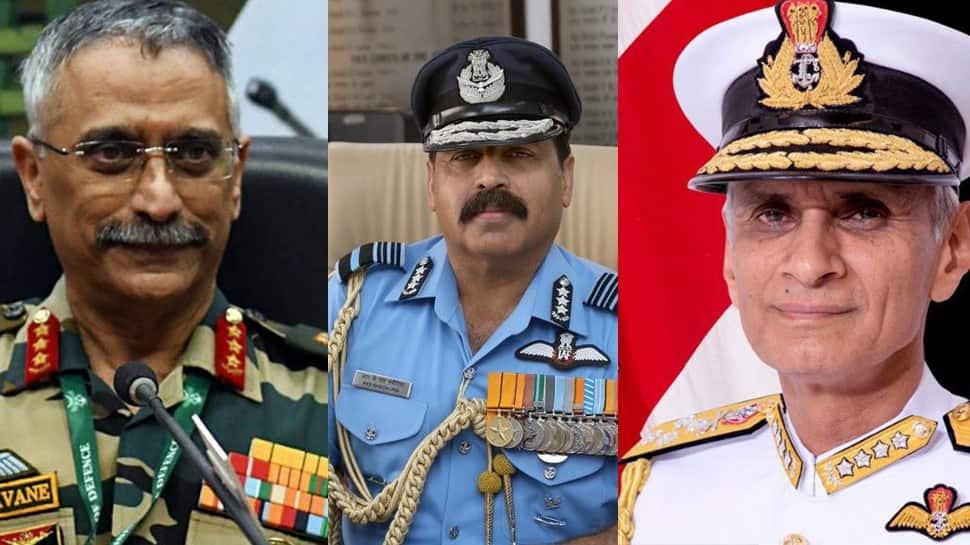 56th NDA to defence chiefs: Journey of Lt Gen Naravane, ACM RKS Bhadauria and Admiral Karambir Singh