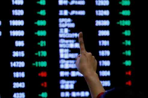 World markets: Asian shares tiptoe higher, sterling wounded before BoE policy meeting