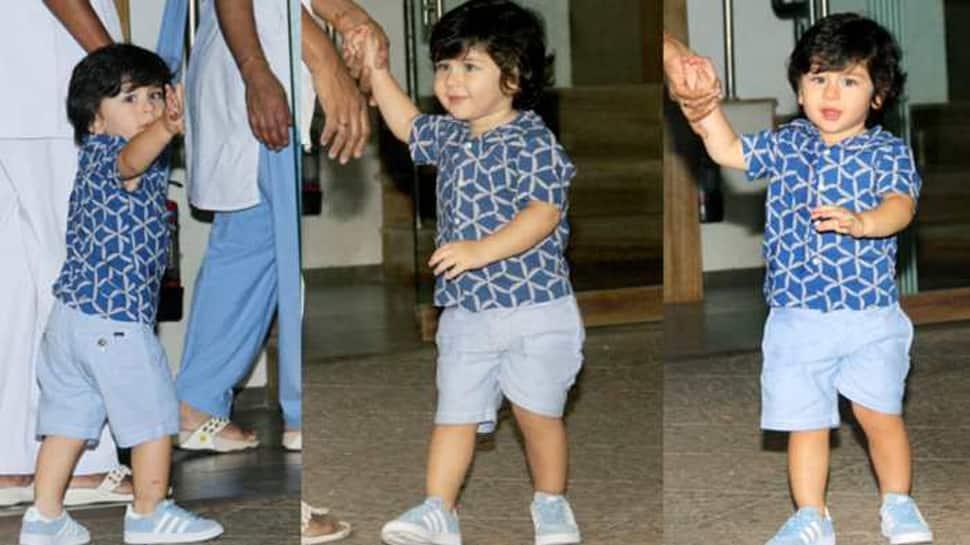 Karisma Kapoor shares adorable pic of birthday boy Taimur Ali Khan!