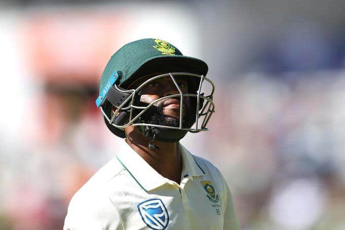 Temba Bavuma to miss 1st England Test due to muscle strain