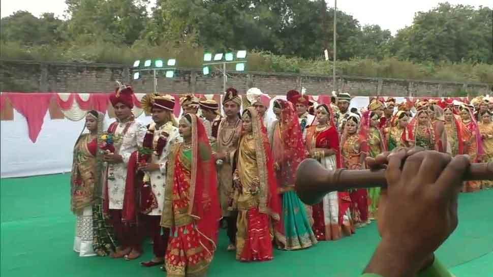 Gujarat: 271 couples ties knot at mass wedding in Surat