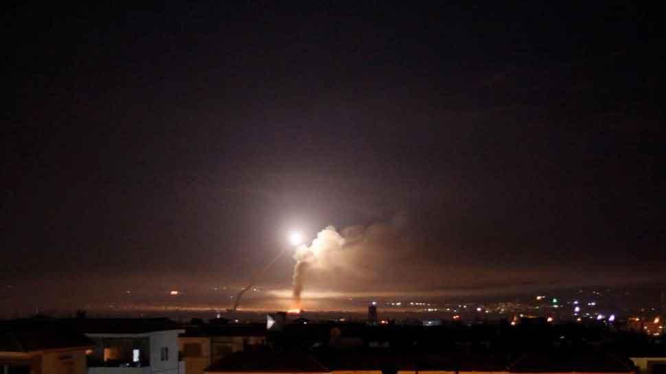 Syrian air defenses intercept Israeli missile attack
