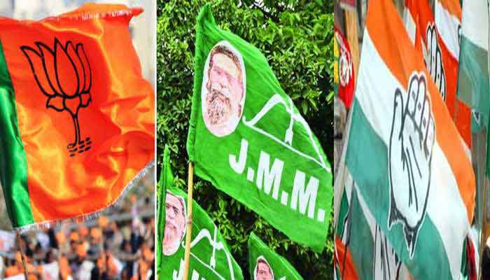 Jharkhand assembly election result 2019: JMM-Congress-RJD alliance leads in initial trend, BJP trails