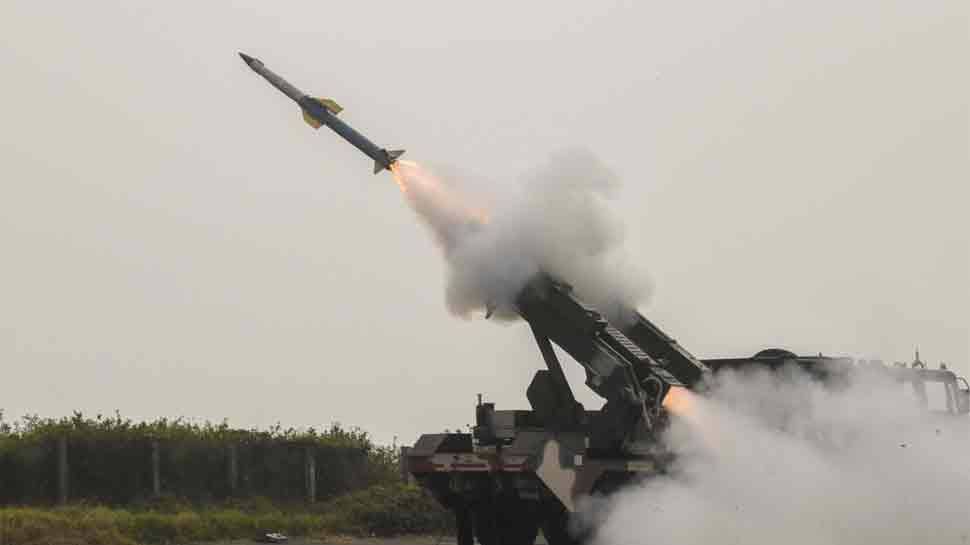 DRDO successfully test-fires QRSA missiles against live aerial targets