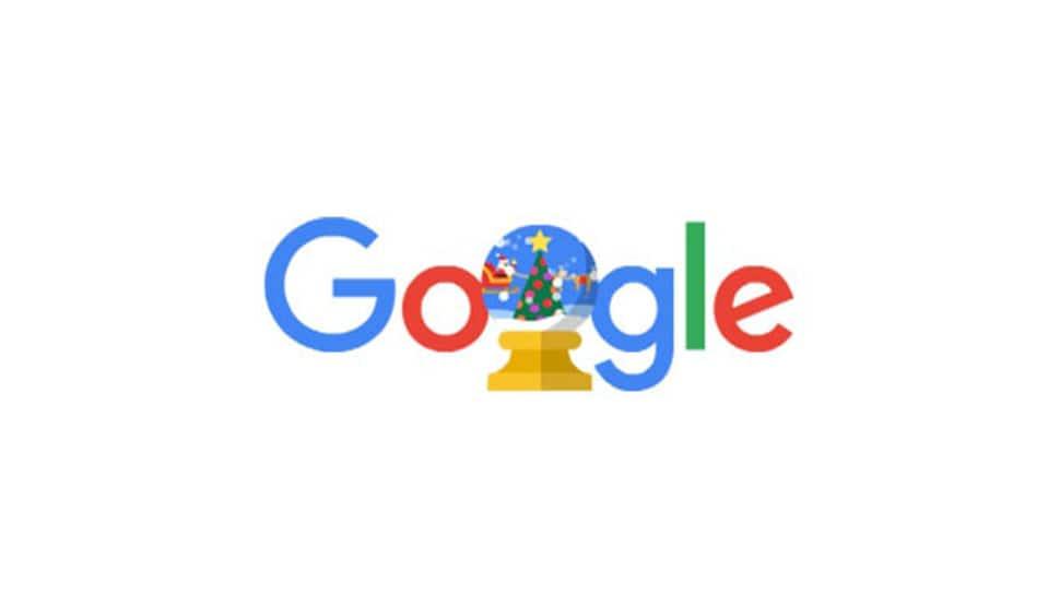 Google marks holiday season with doodle titled 'Happy Holidays 2019'