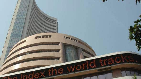 Sensex loses 14 points, Nifty touches 12,263; Tata Motors, Yes Bank gain