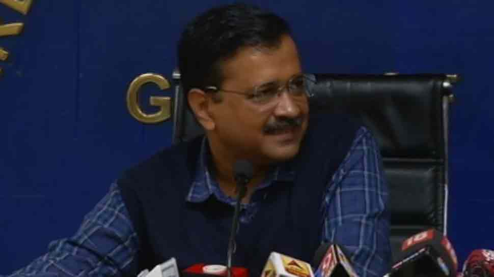 Arvind Kejriwal presents AAP government's report card