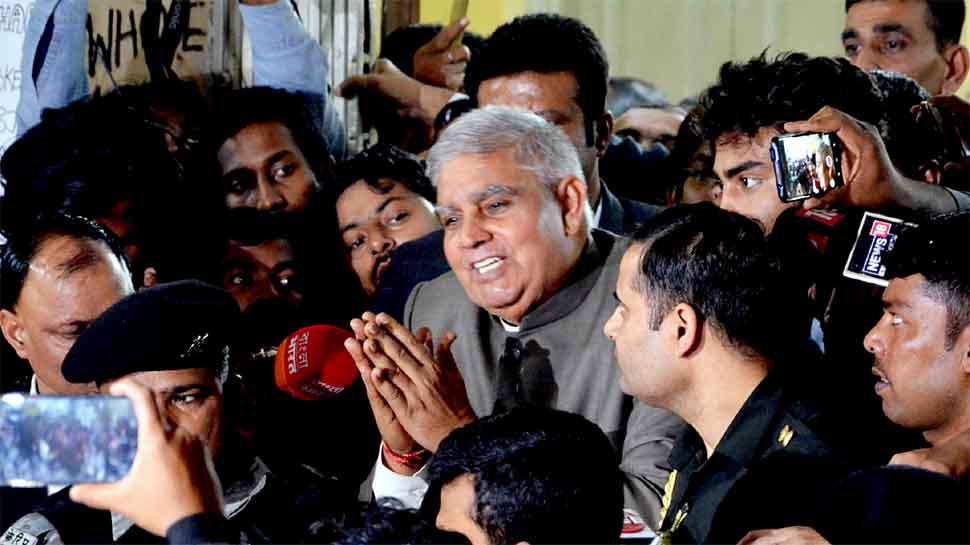 Bengal Governor Jagdeep Dhankar, Jadavpur University students face-off continues