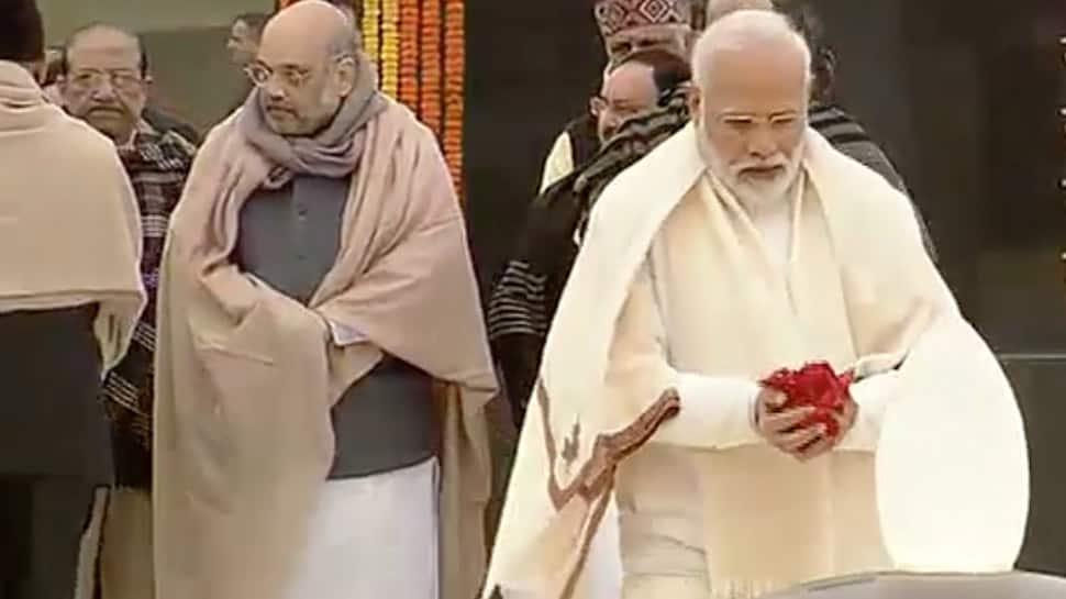 President Kovind, PM Modi pay tributes to Atal Bihari Vajpayee on his 95th birth anniversary