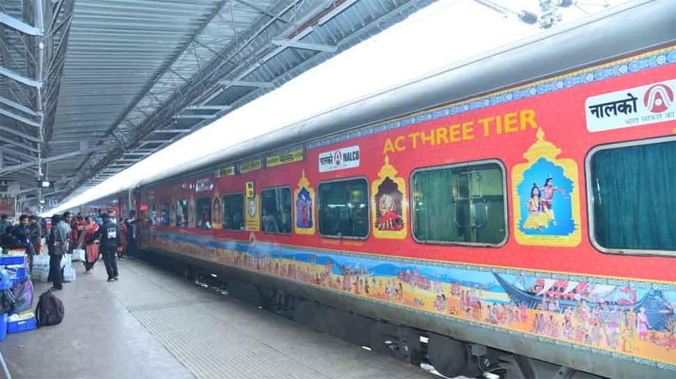 Bhubaneswar-New Delhi Rajdhani trains adorned with beautiful art depicting Odisha culture, tickets issued in Odia language