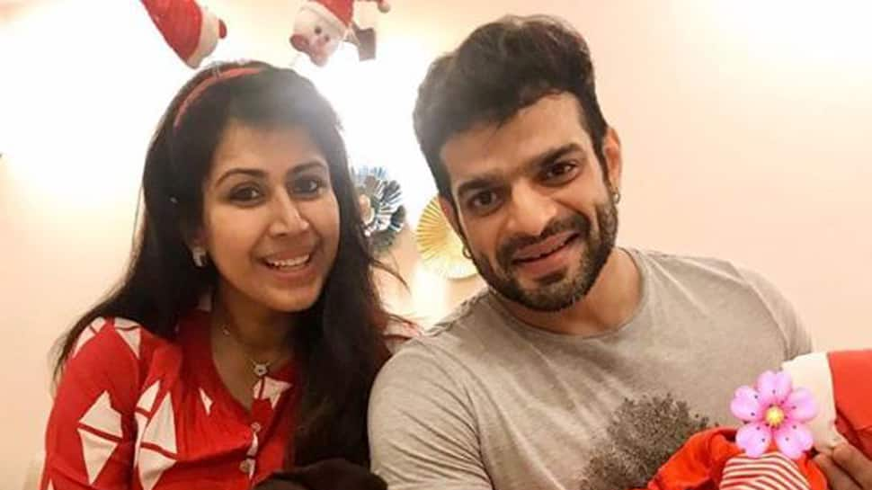 Karan Patel-Ankita Patel share the first picture of their daughter Mehr