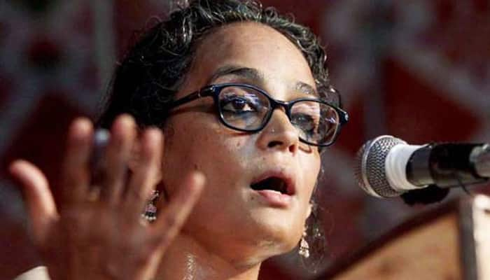 Arundhati Roy booked for asking people to give wrong information for NPR