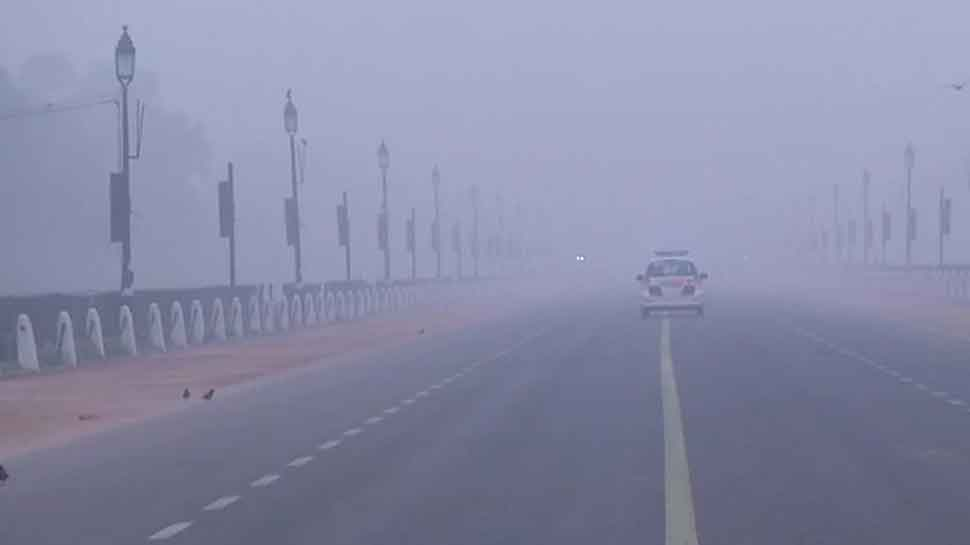 Intense cold grips Delhi, temperature dips to 2.4 degree celsius