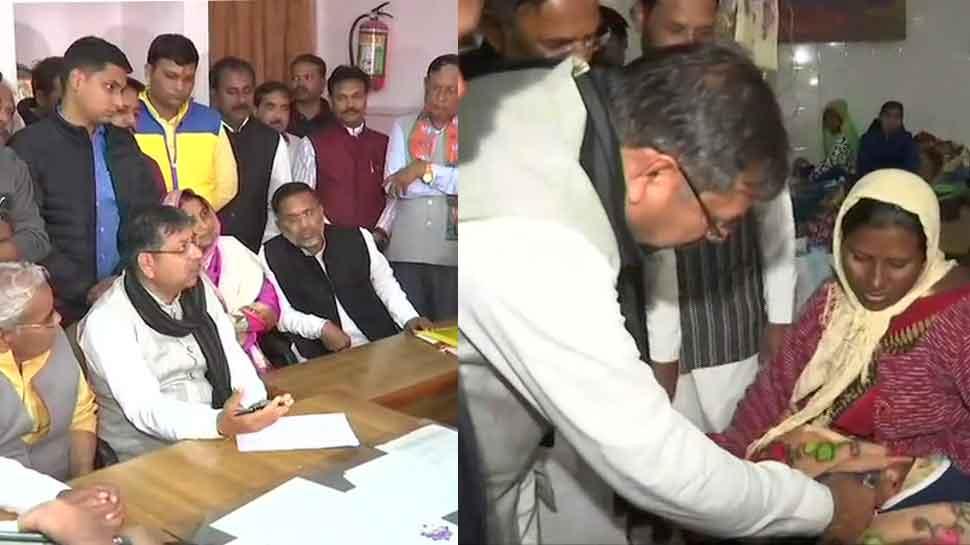BJP leaders visit Kota hospital after death of 10 newborns; CM says action being taken