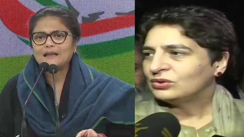 Congress demands dismissal of Yogi Adityanath govt after Priyanka Gandhi 'manhandled' in UP, police deny charge