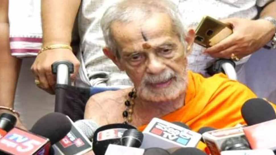 Vishwesha Theertha Swami, Seer of Udupi Pejavara Mutt, dies at 88