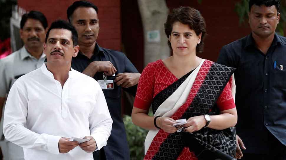 Proud of you: Robert Vadra backs Priyanka Gandhi after Uttar Pradesh Police allegedly manhandles her