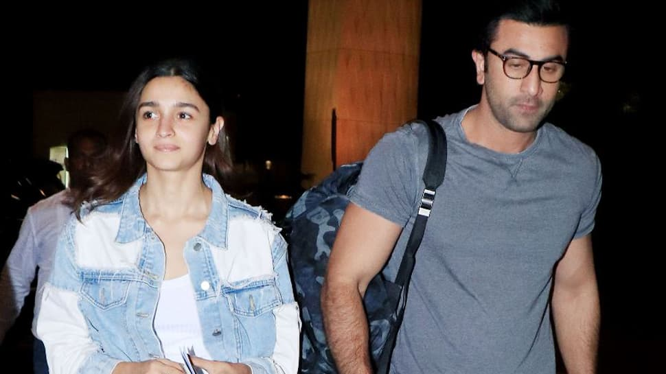 Ranbir Kapoor-Alia Bhatt jet off to a romantic destination- See inside