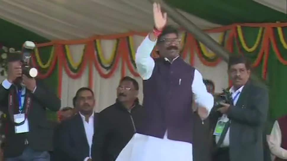 JMM leader Hemant Soren takes oath as 11th Chief Minister of Jharkhand