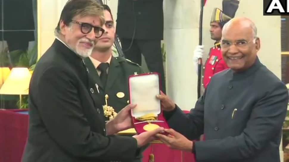 Amitabh Bachchan receives prestigious Dada Saheb Phalke award