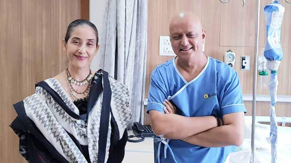 Actress Manisha Koirala meets BJP MP Anil Baluni battling cancer in Mumbai